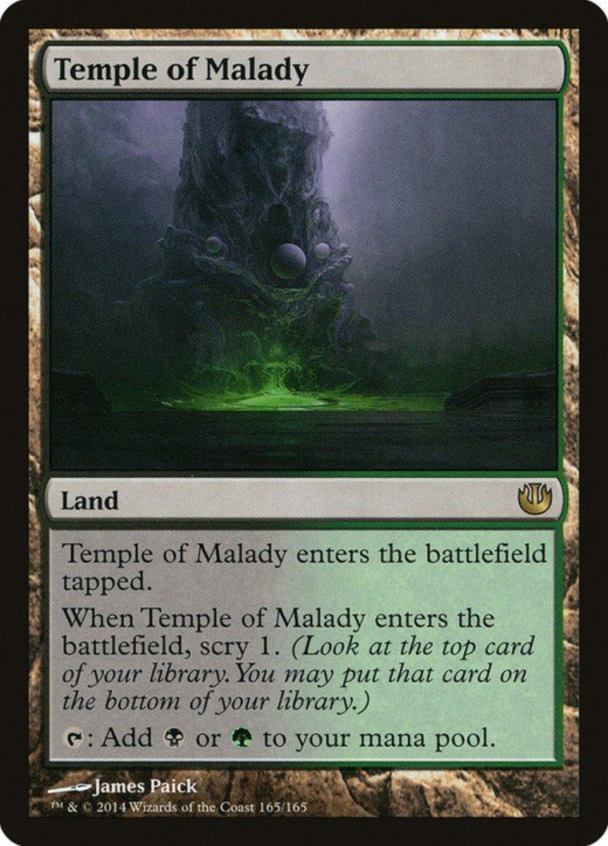Temple of Malady mtg