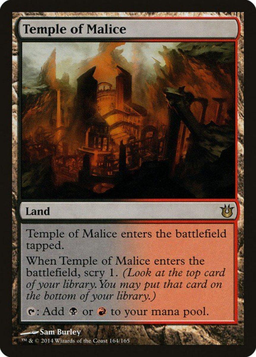 Temple of Malice mtg