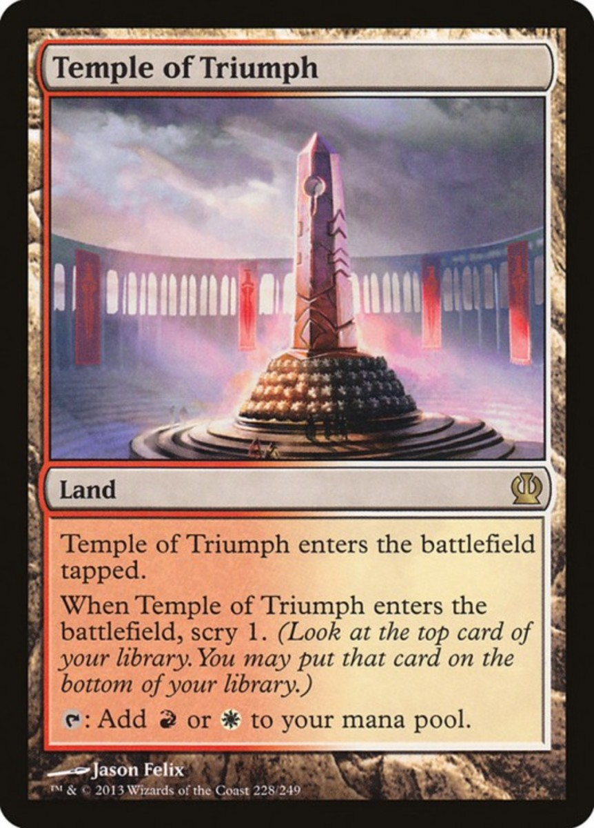 Temple of Triumph mtg