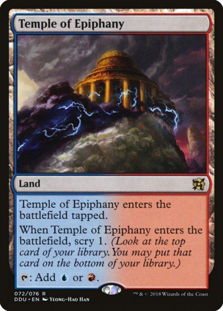 Temple of Epiphany mtg