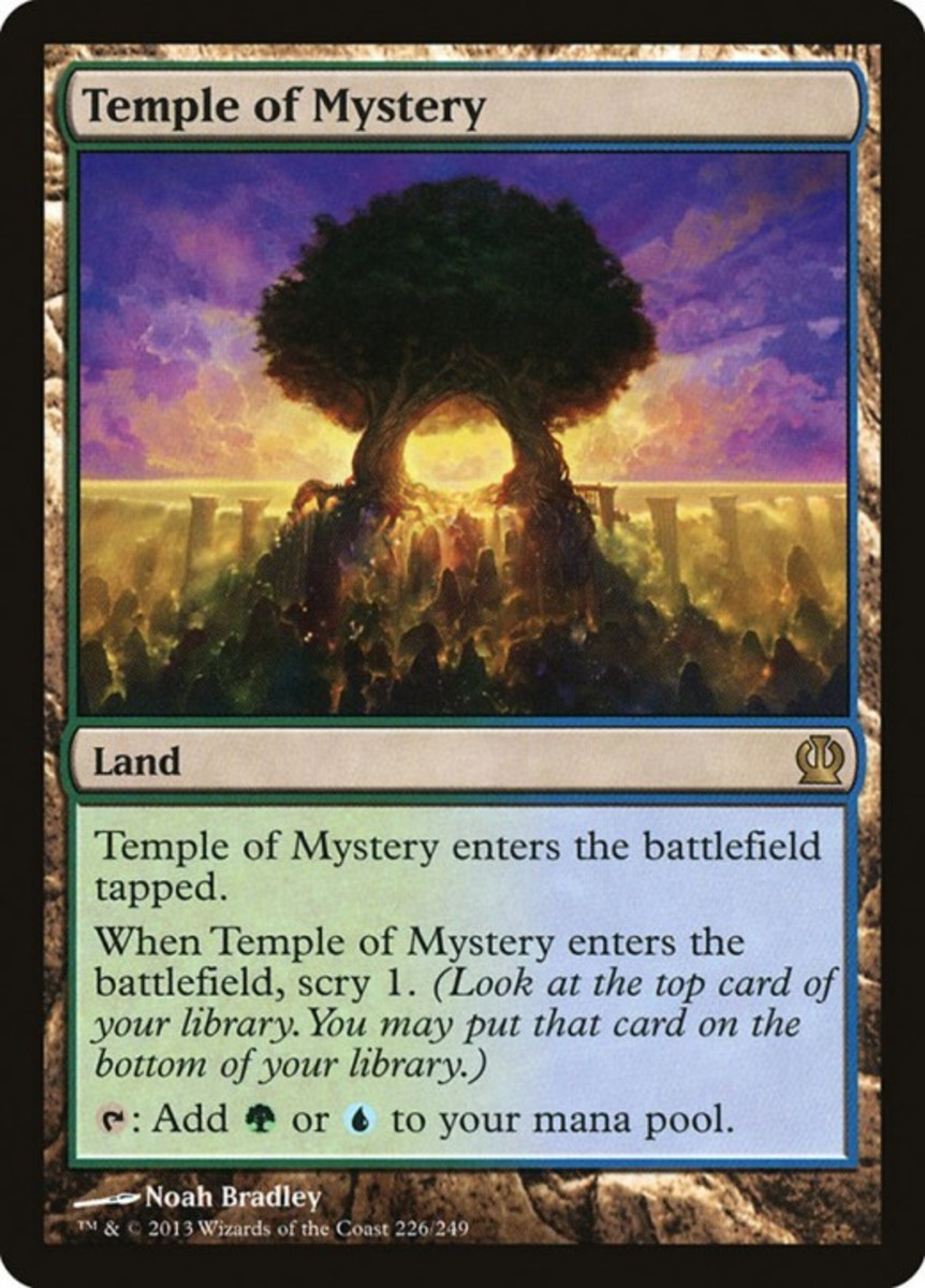 Temple of Mystery mtg