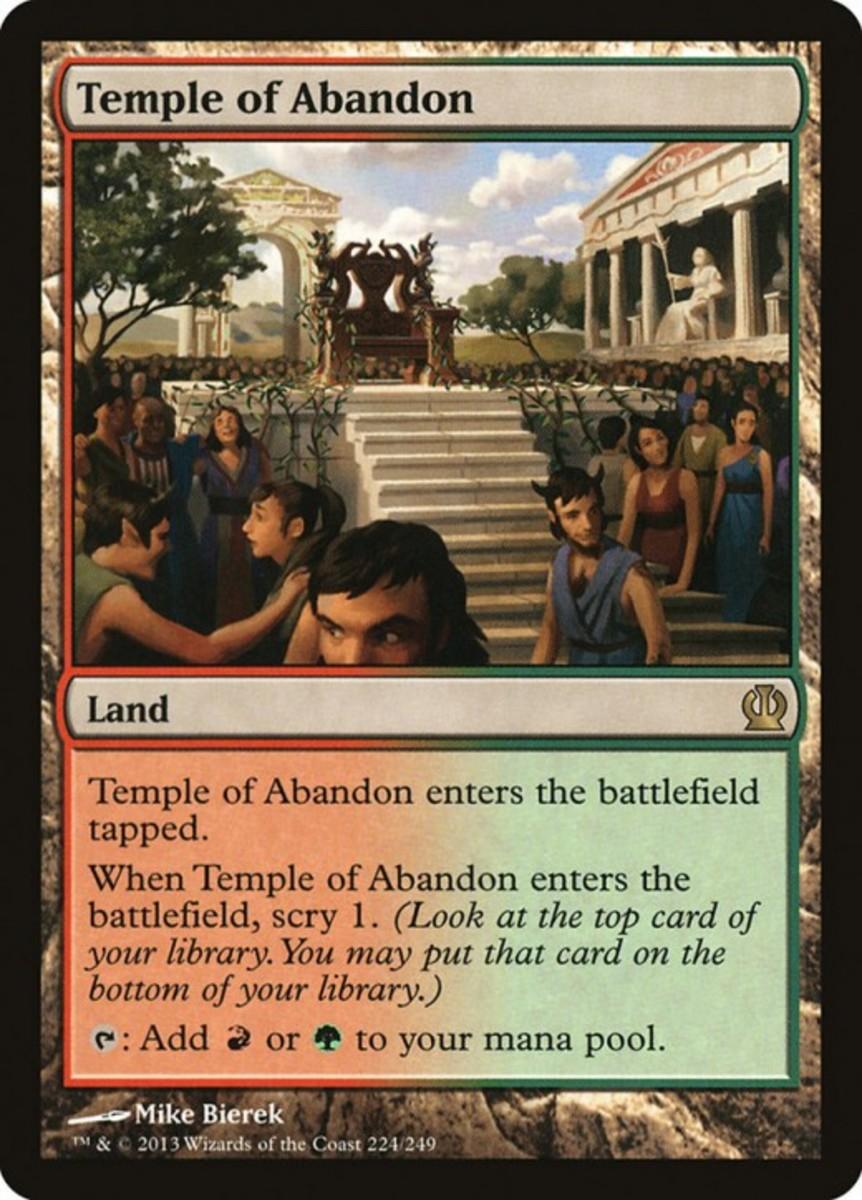 Temple of Abandon mtg
