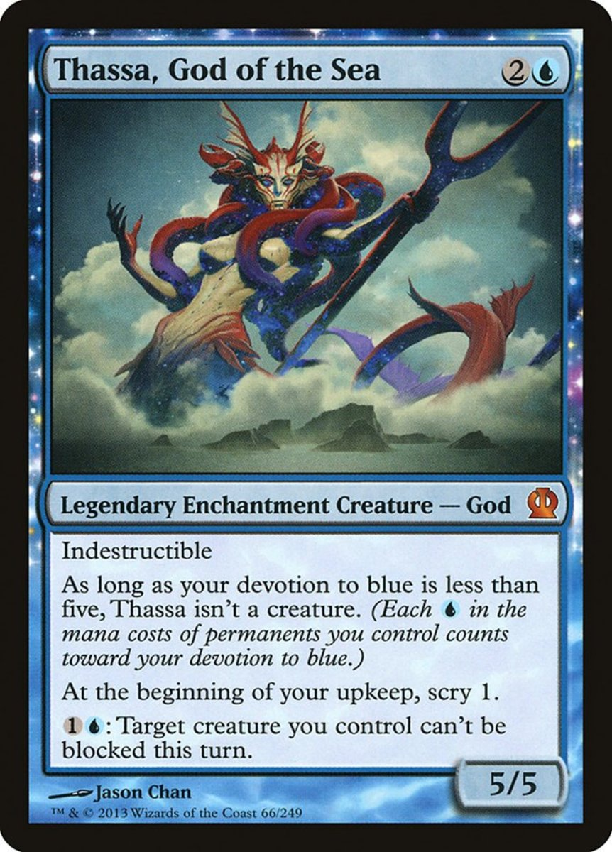 Thassa, God of the Sea mtg