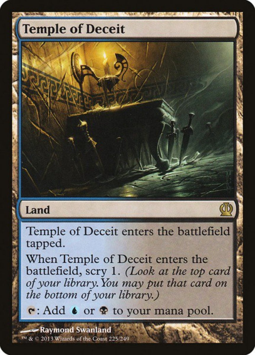 Temple of Deceit mtg