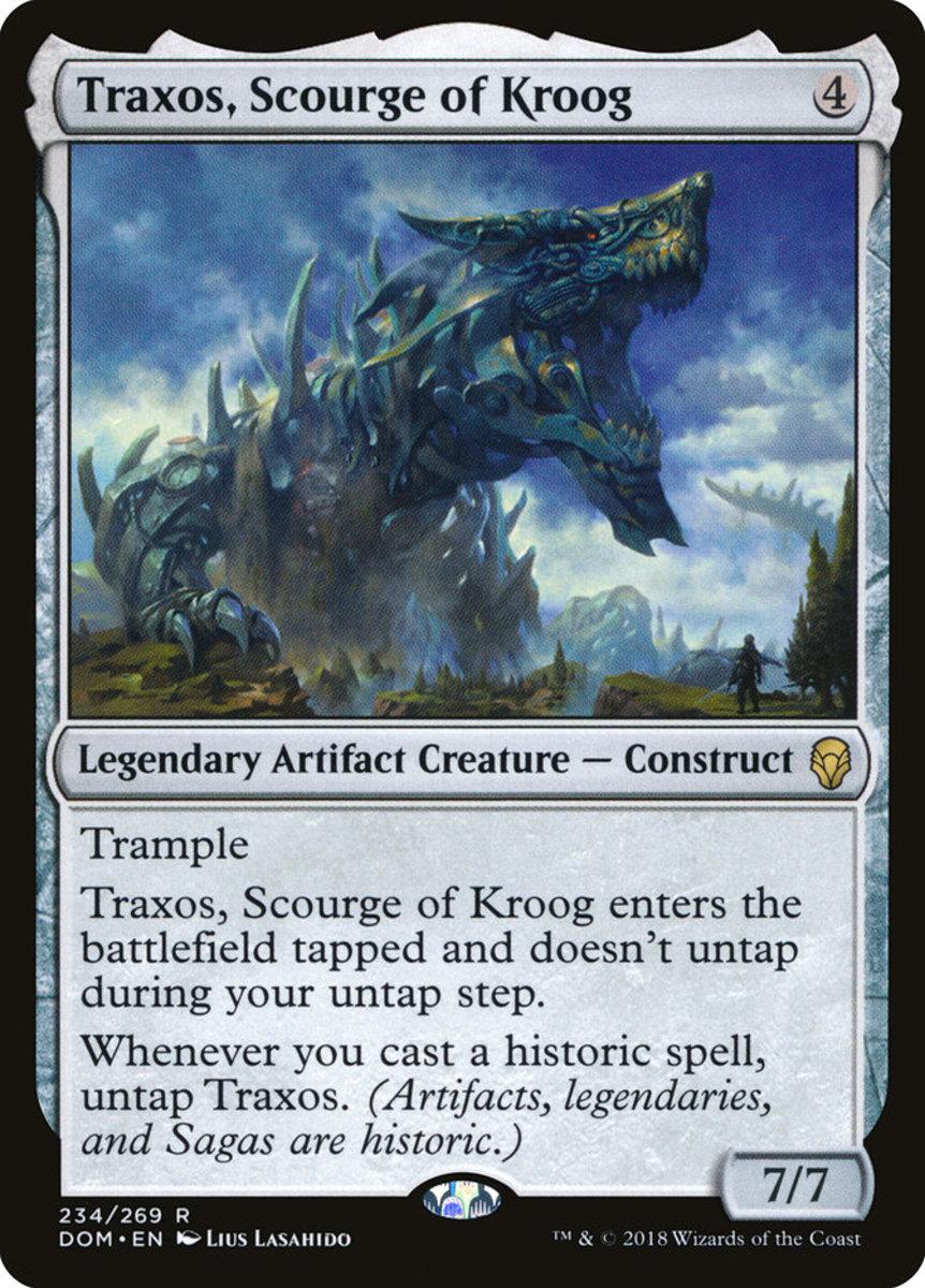 Traxos, Scourge of Kroog mtg