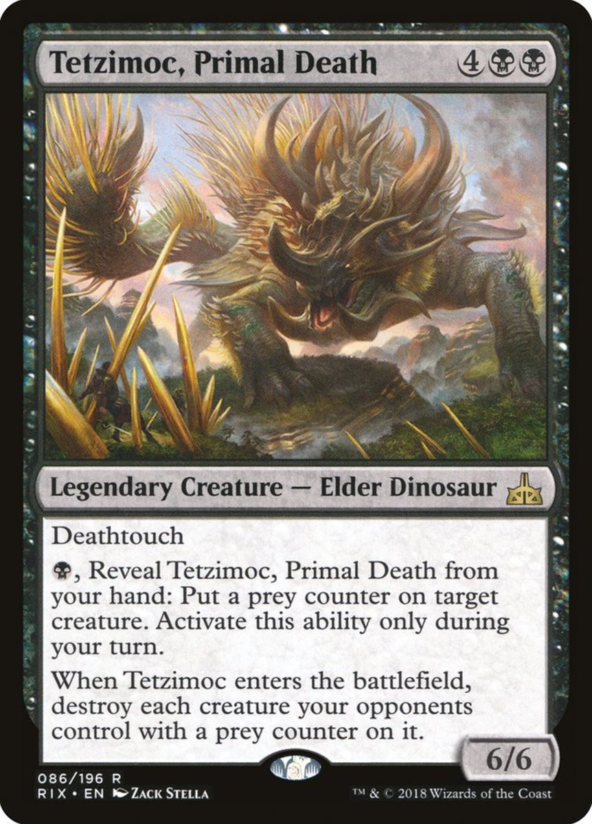 Top 6 Elder Dinosaurs in Magic: The Gathering