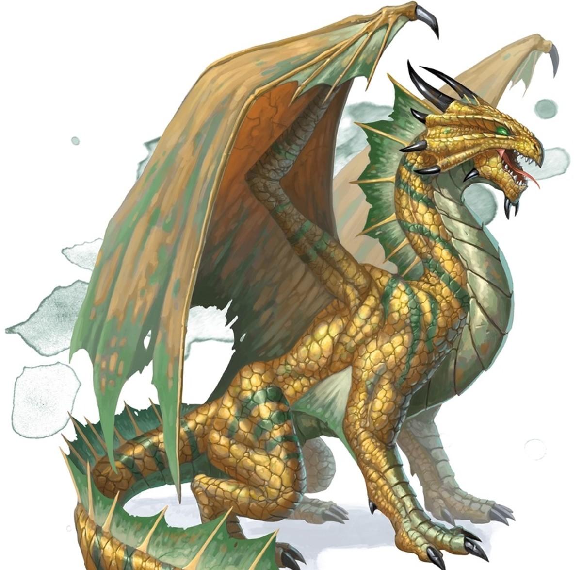 Ancient Bronze Dragon DnD