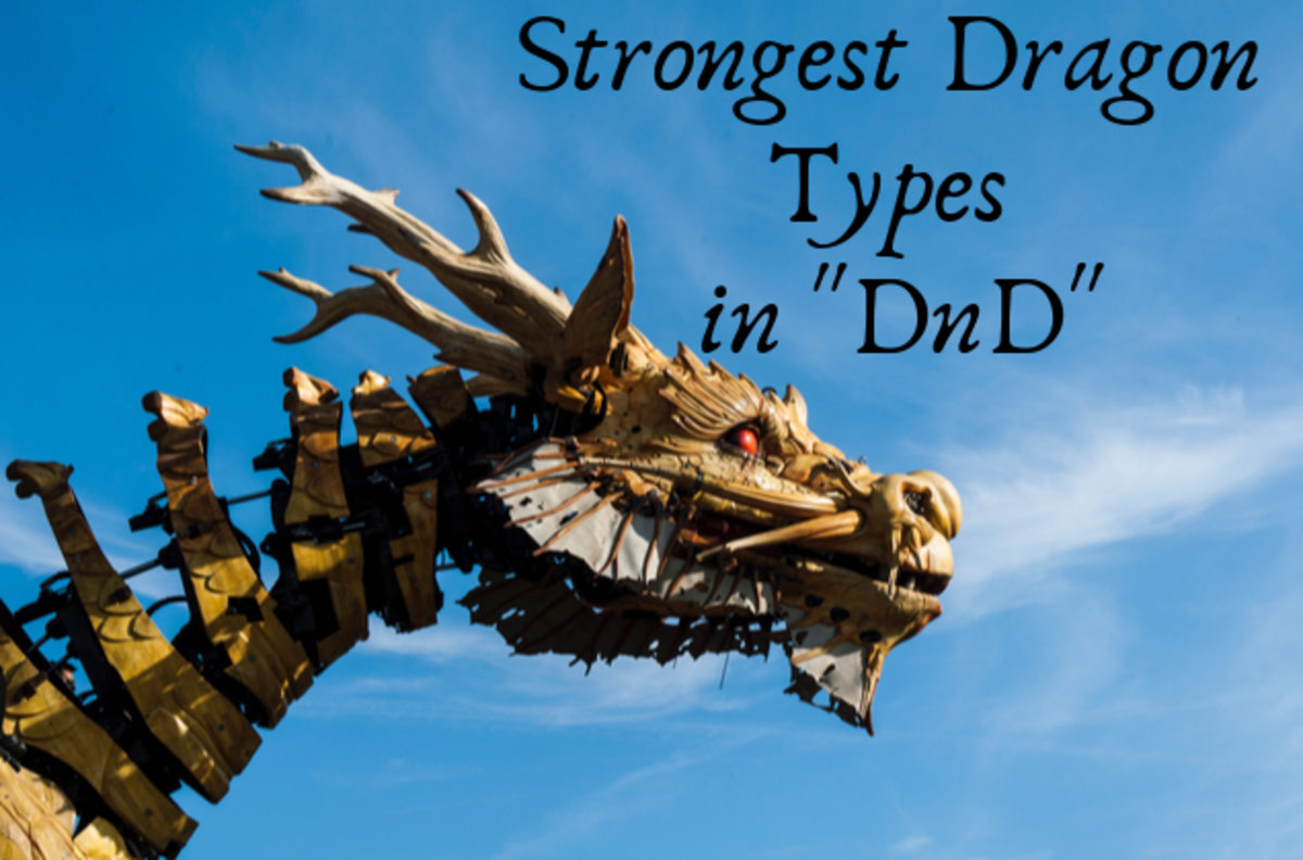"Top 10 Strongest Dragon Types in ""Dungeons & Dragons"""