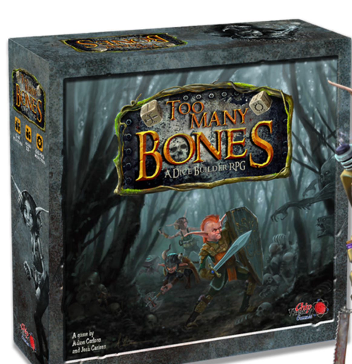 Too Many Bones: A Dice-Builder RPG