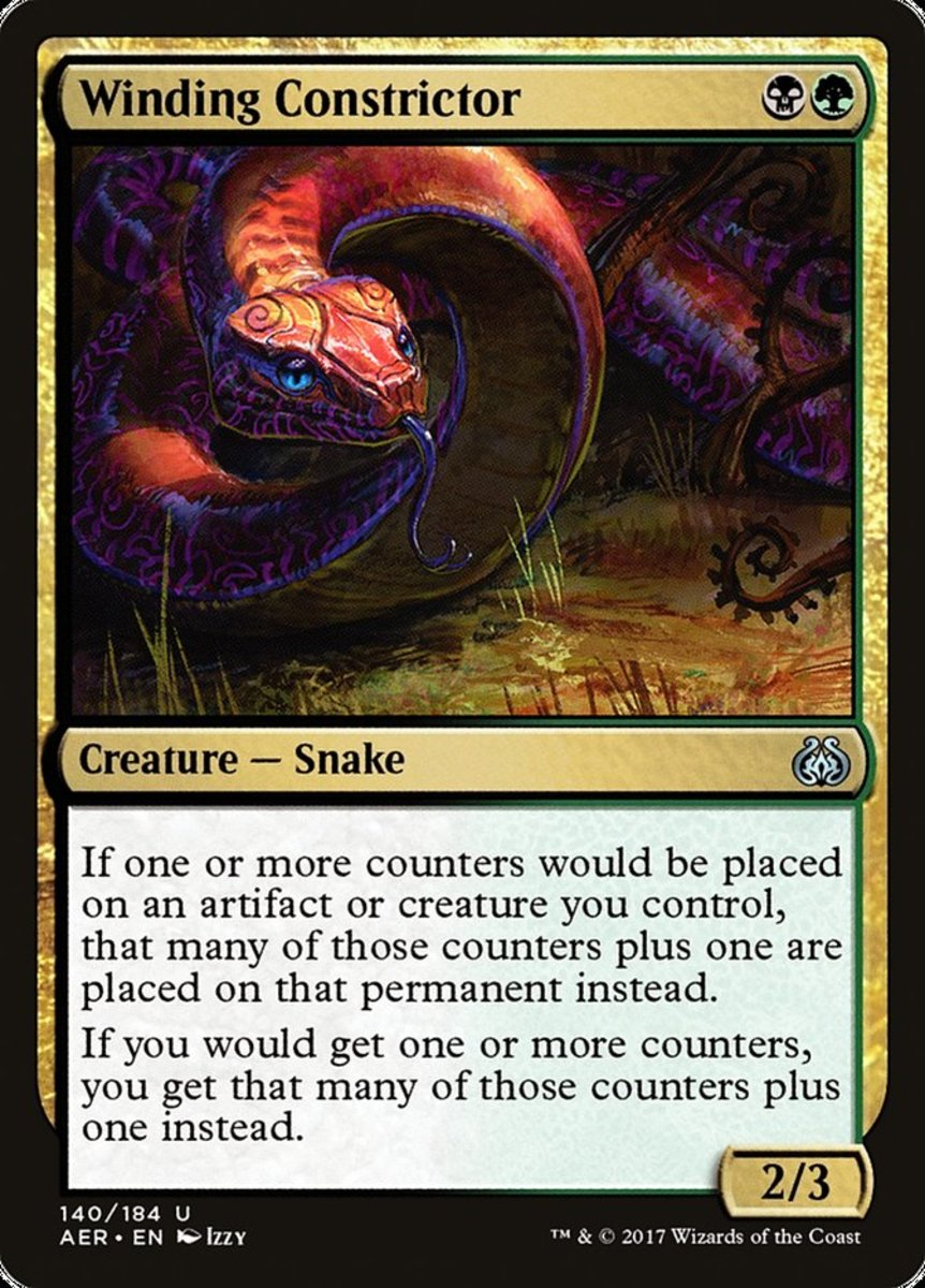 Winding Constrictor mtg