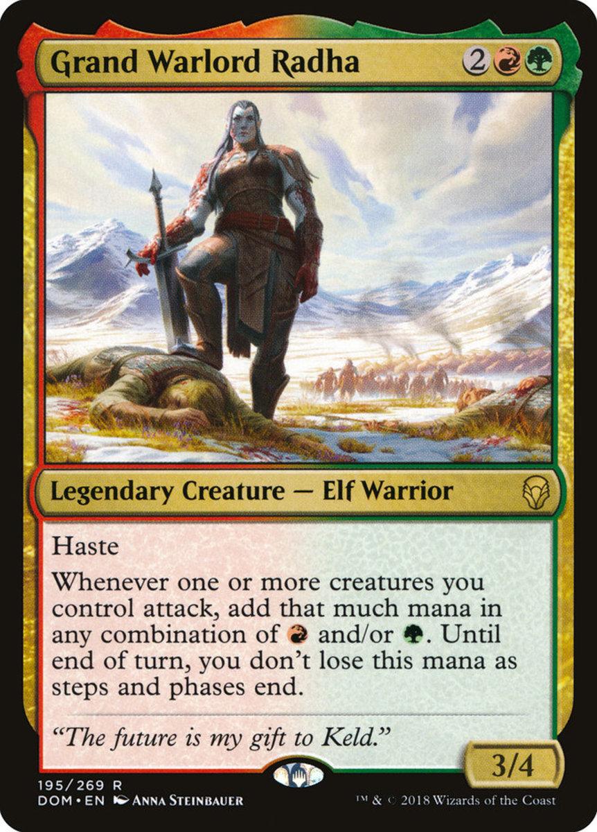 Grand Warlord Radha mtg