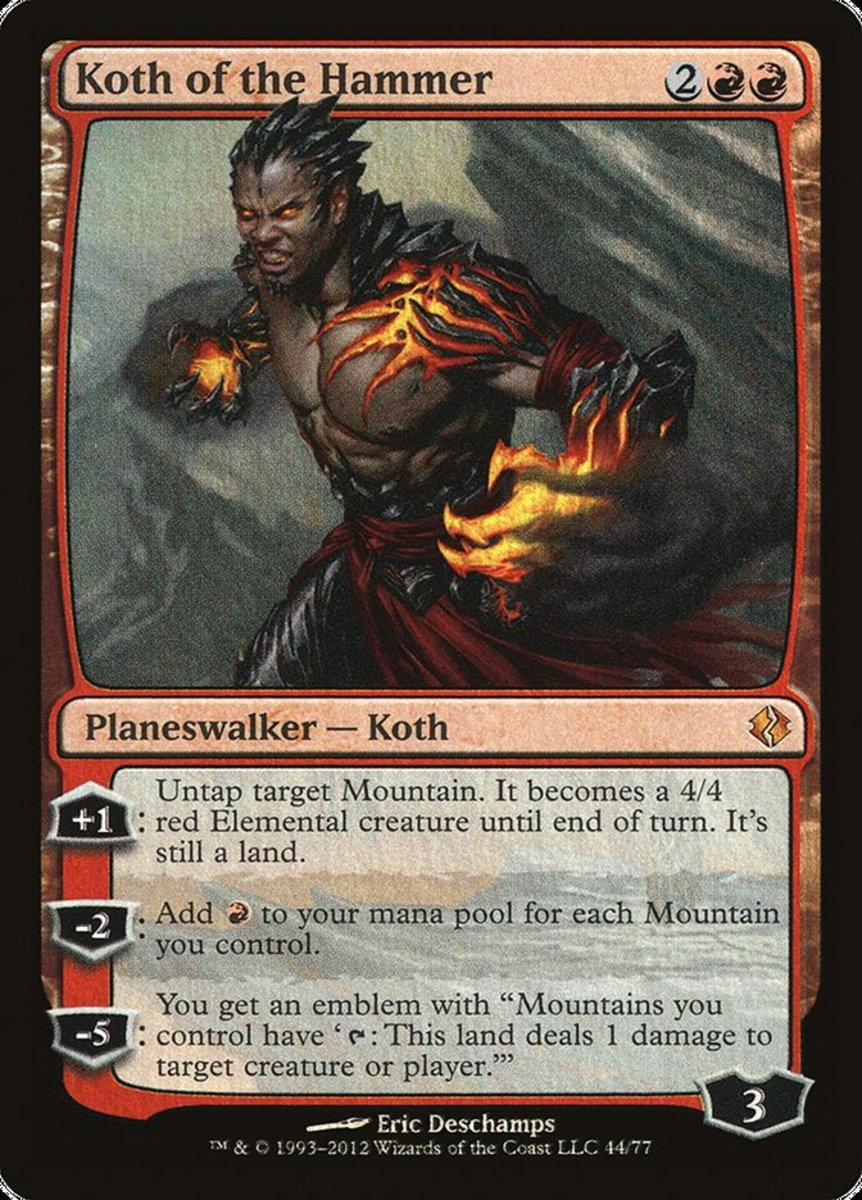Koth of the Hammer mtg