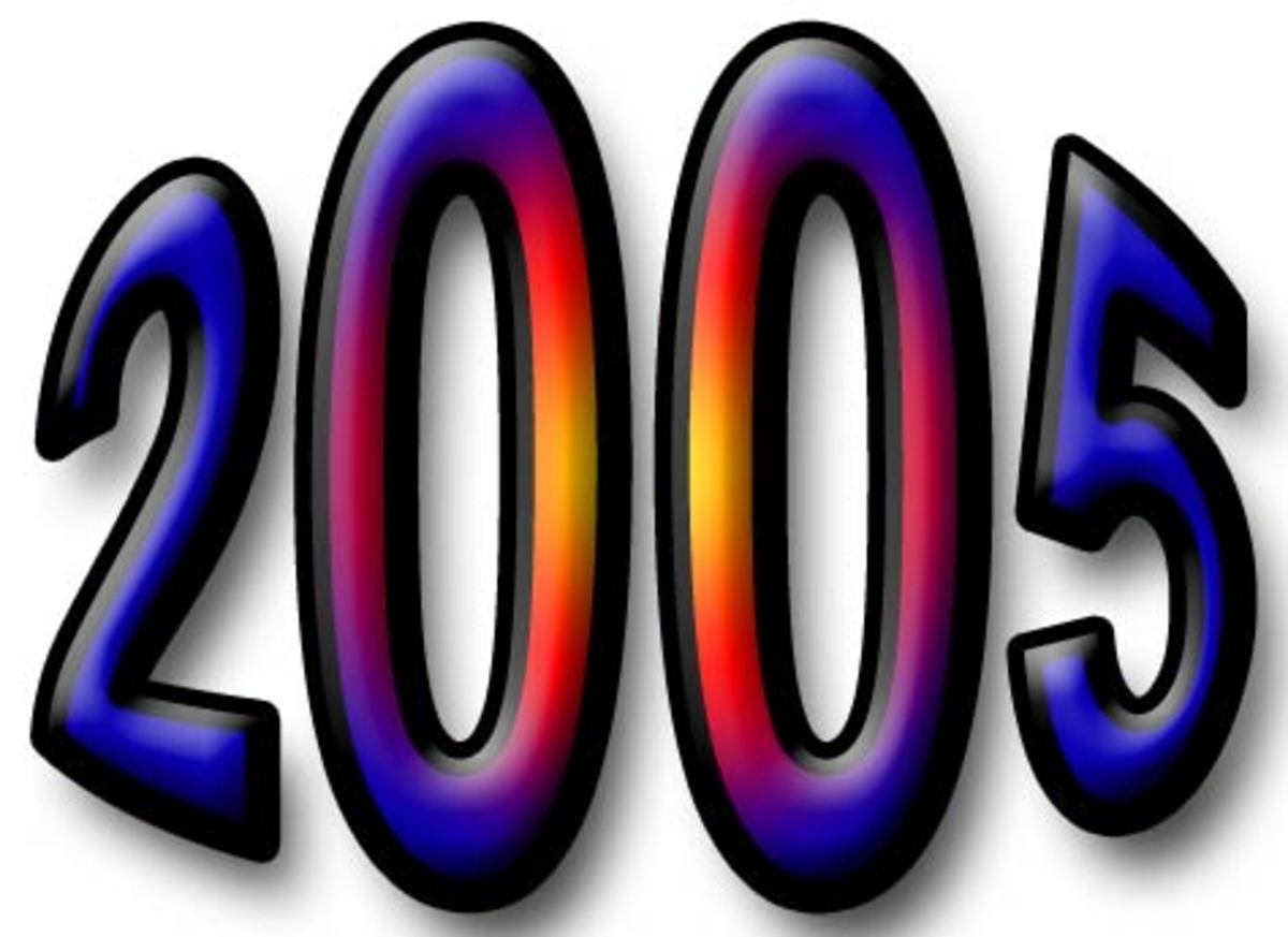 2005 Fun Facts, Trivia, and History