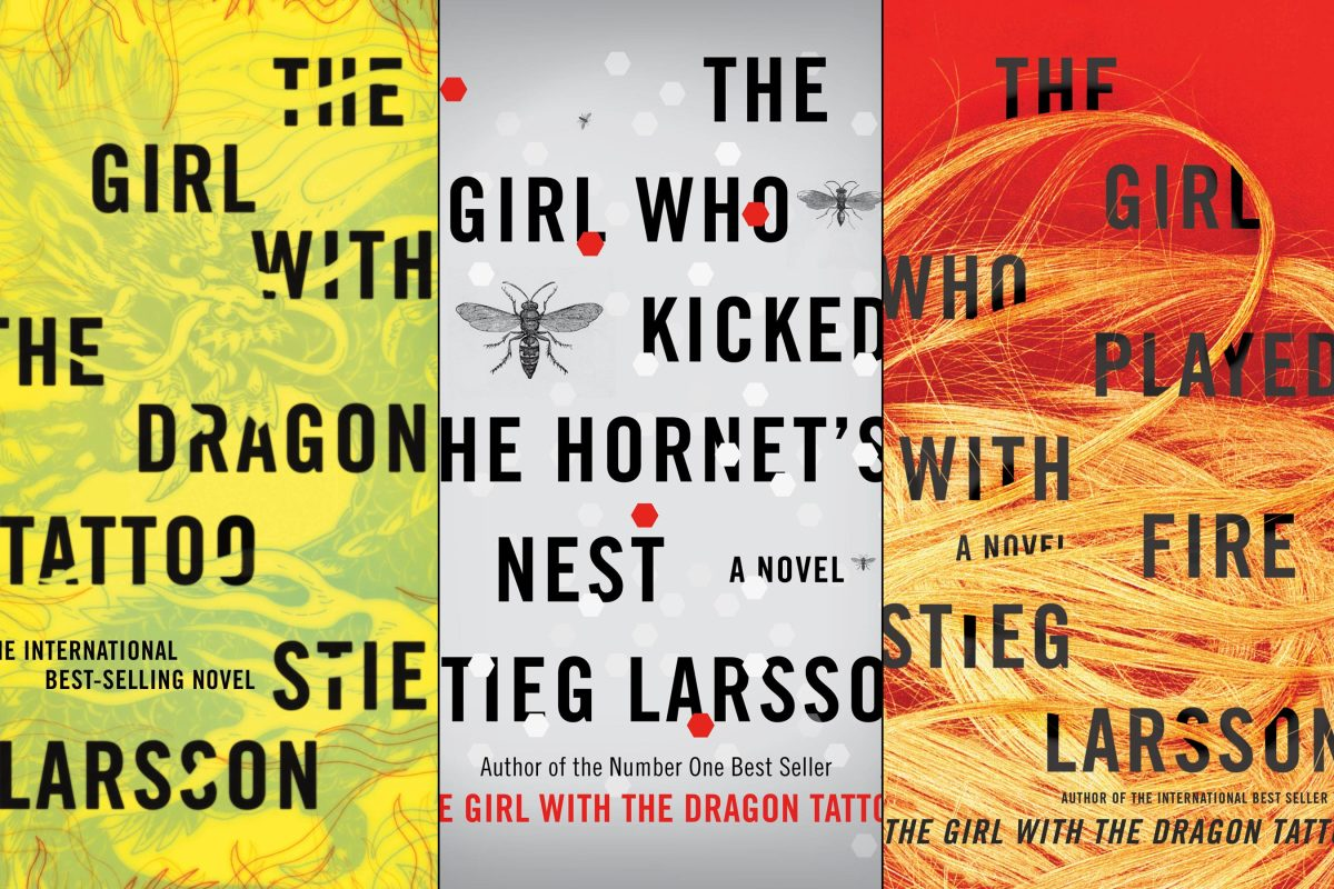 """In 2011, """"The Girl with the Dragon Tattoo"""" and """"The Girl Who Kicked the Hornet's Nest"""" were best-selling books."""
