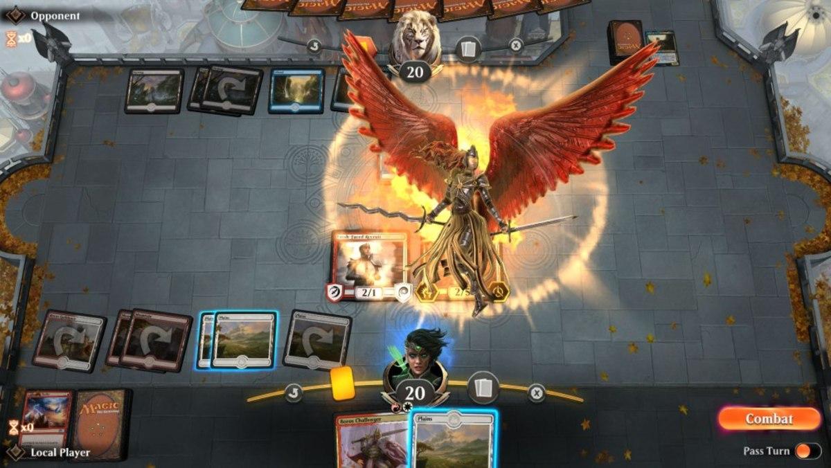 An angel arrives in MTG Arena