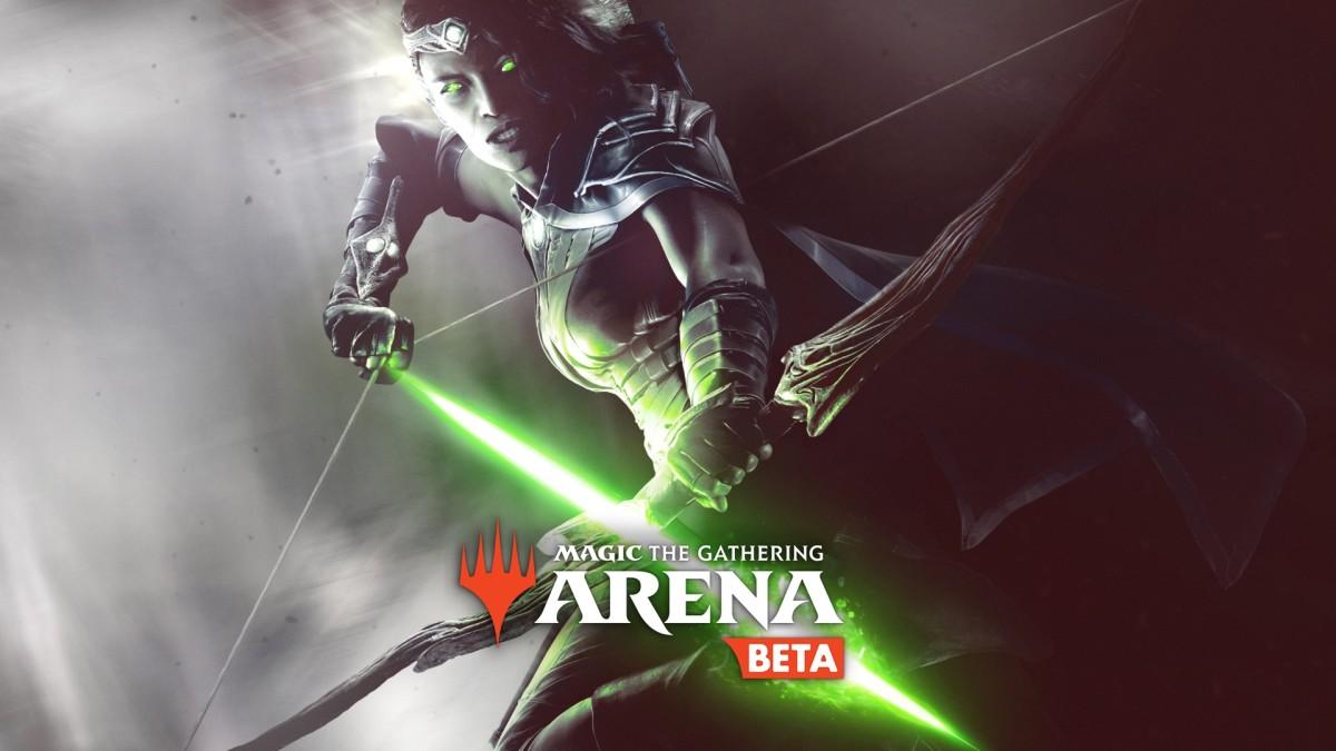 Arena's beta logo