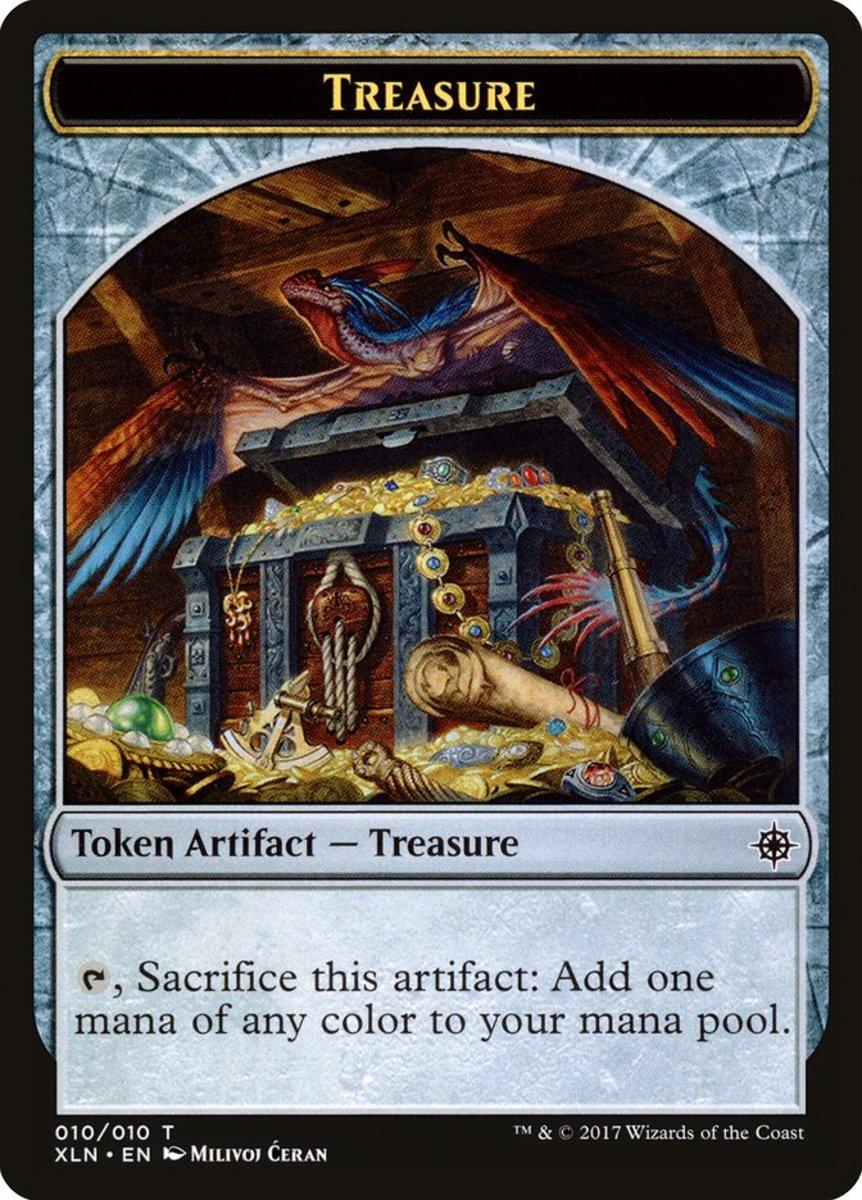 Treasure Token mtg