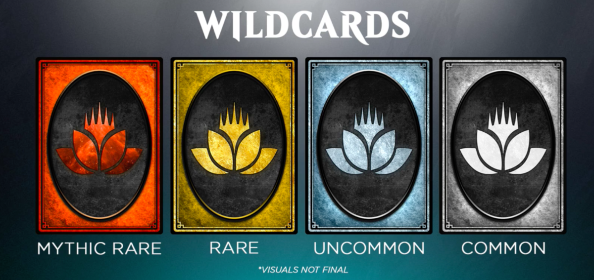 Wildcards can duplicate any card you already possess