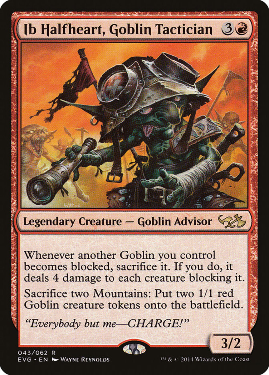 Ib Halfheart, Goblin Tactician mtg