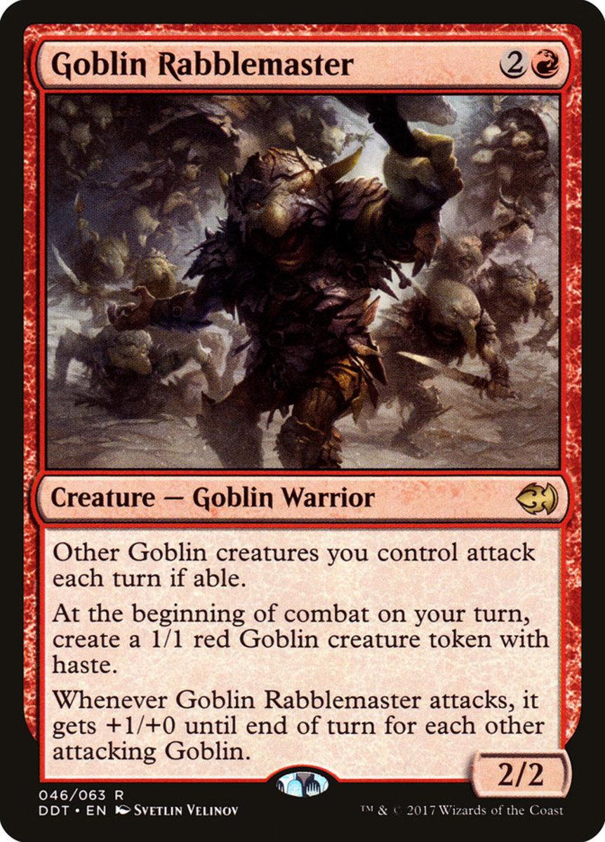 Goblin Rabblemaster mtg