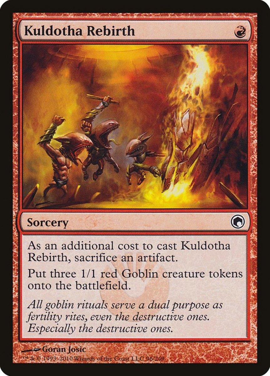 Top 10 Goblin Token-Producing Cards in Magic: The Gathering
