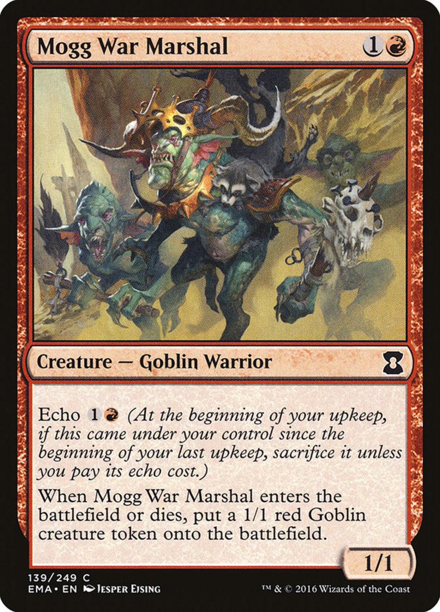 Mogg War Marshal mtg