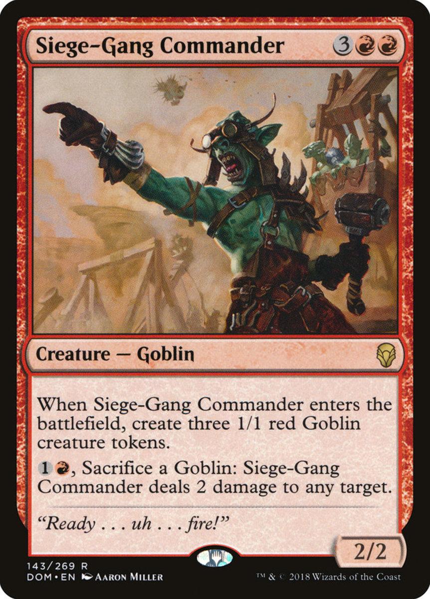 Siege-Gang Commander mtg