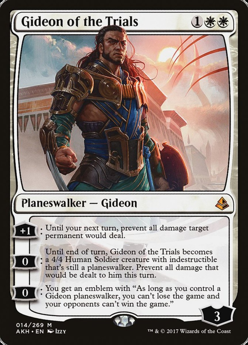 Gideon of the Trials mtg