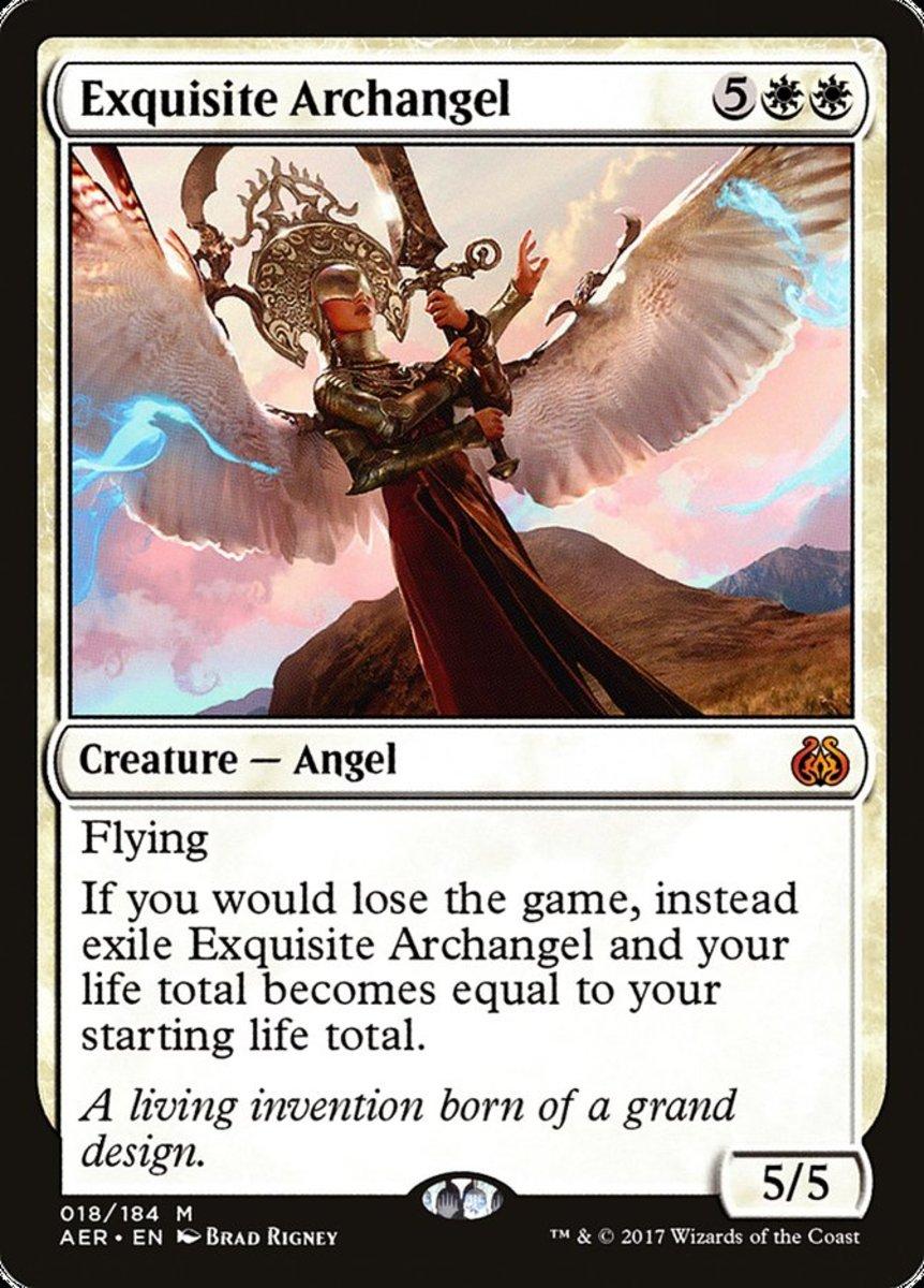 Exquisite Archangel mtg