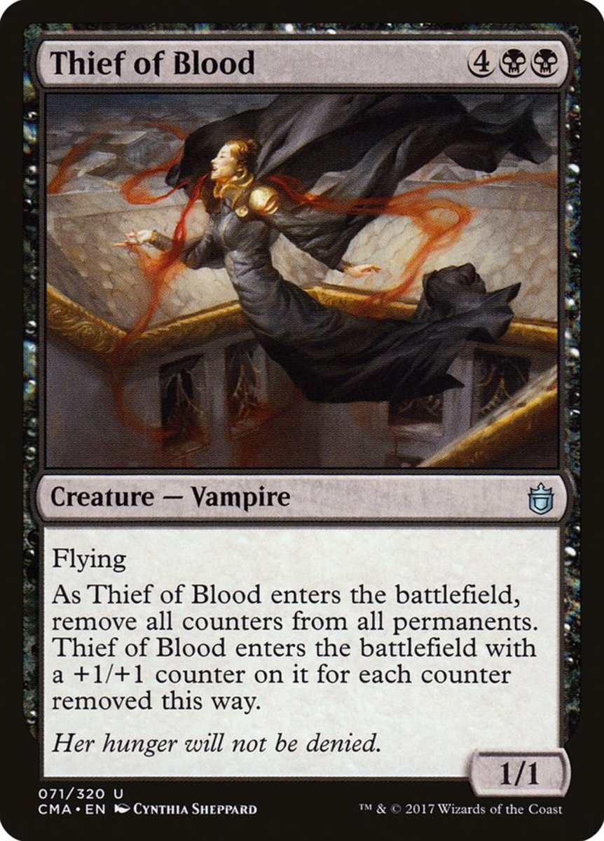 Thief of Blood mtg