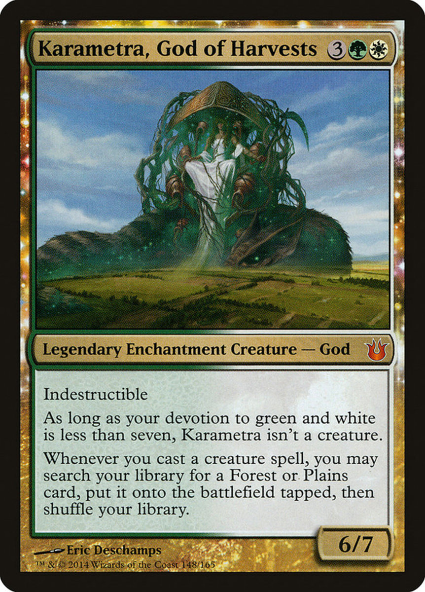 Karametra, God of Harvests mtg