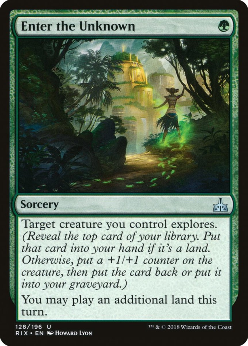 Enter the Unknown mtg