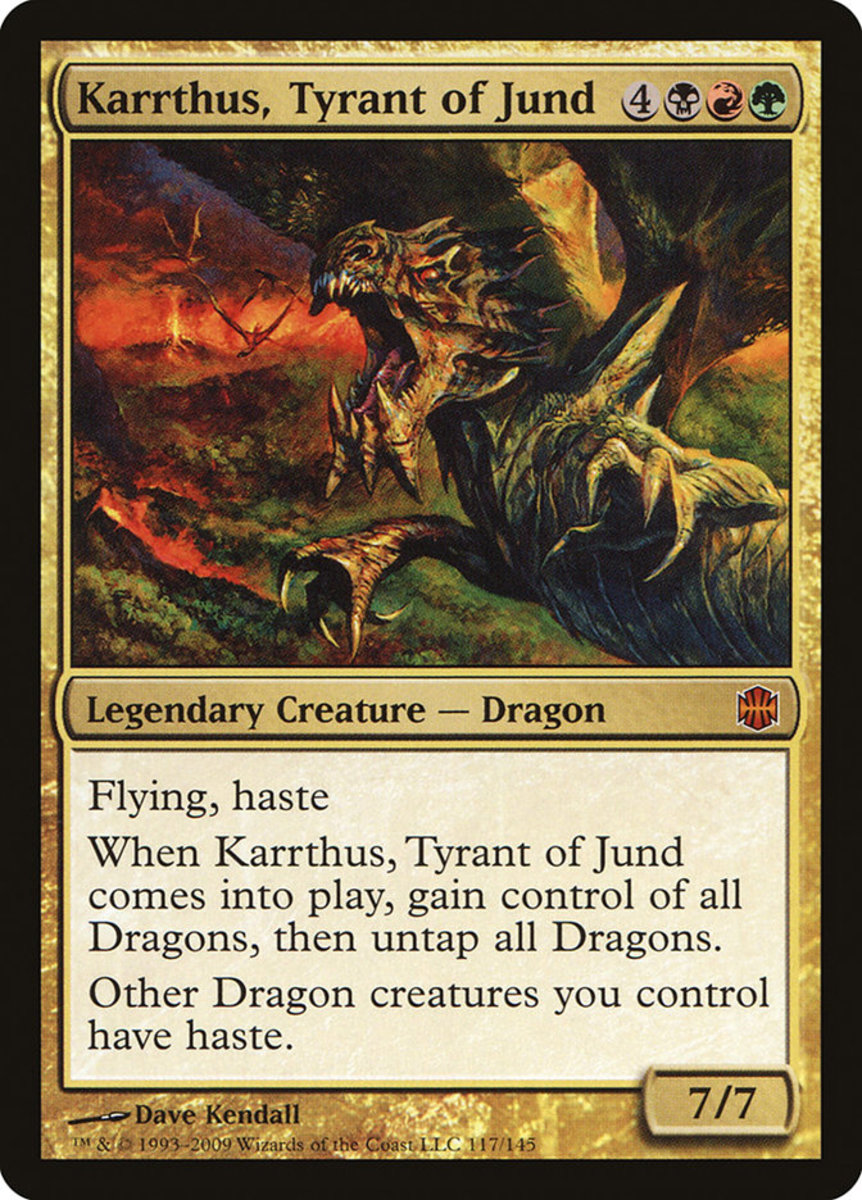 Karrthus, Tyrant of Jund mtg