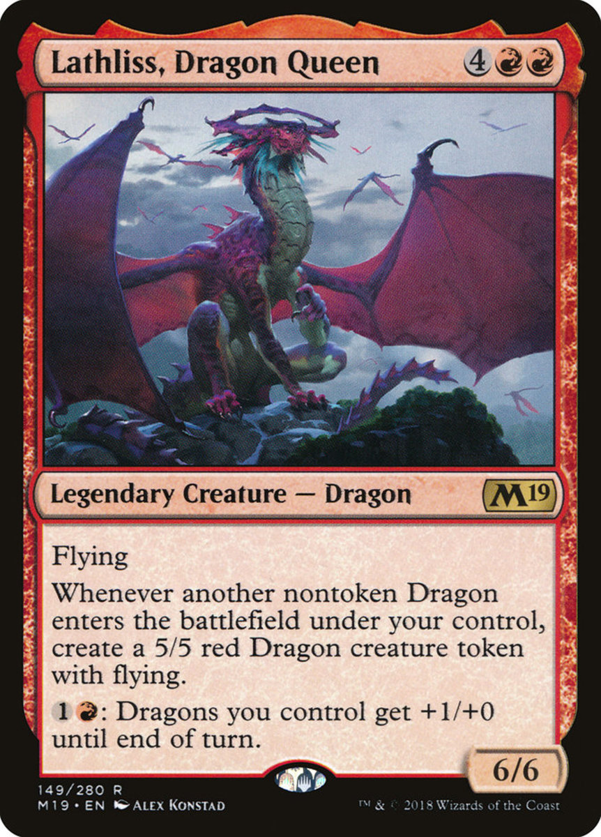 Lathliss, Dragon Queen mtg