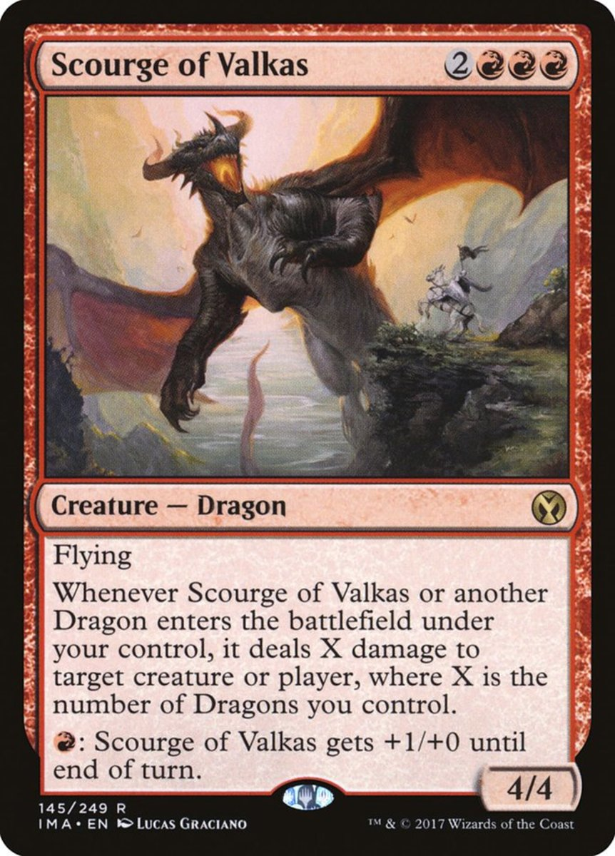 Top 10 Dragon Supports (From Other Dragons) in Magic: The Gathering