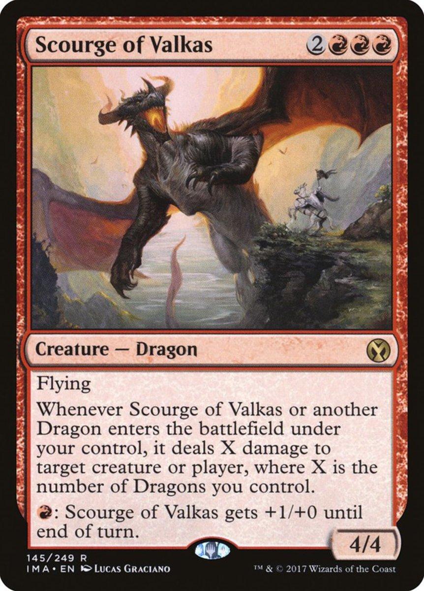 Scourge of Valkas mtg