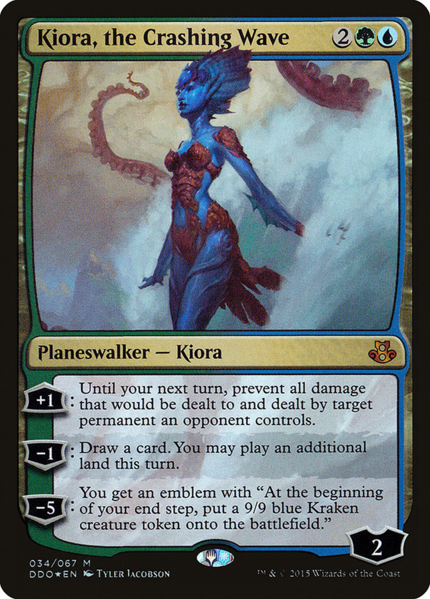 Kiora, the Crashing Wave mtg