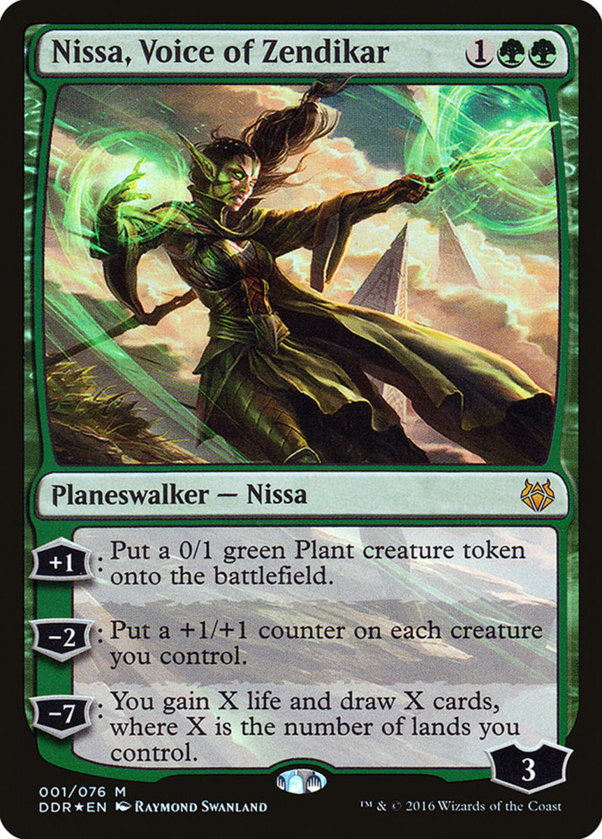 Nissa, Voice of Zendikar mtg