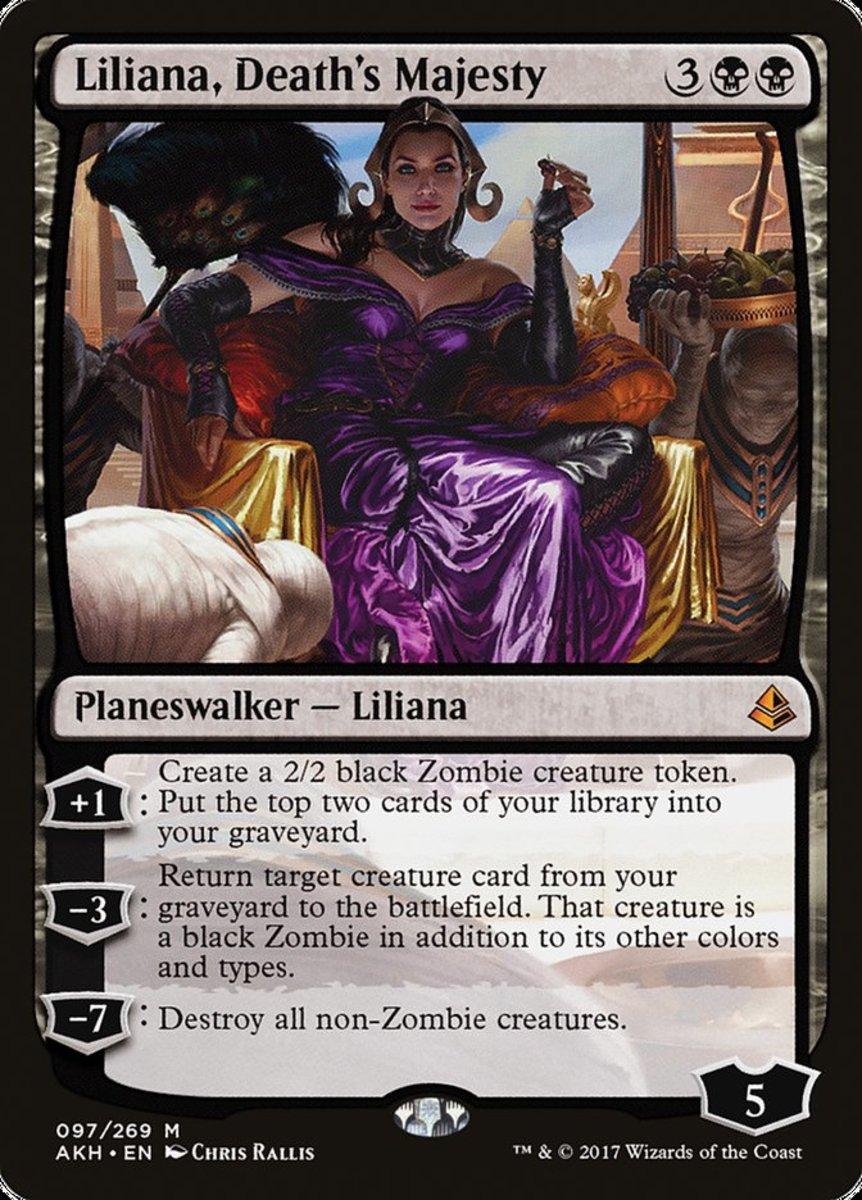 Liliana, Death's Majesty mtg