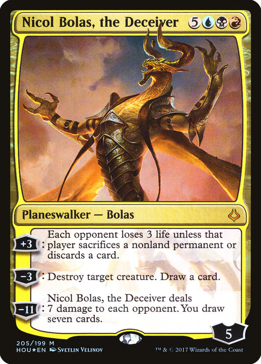 Nicol Bolas, the Deceiver mtg