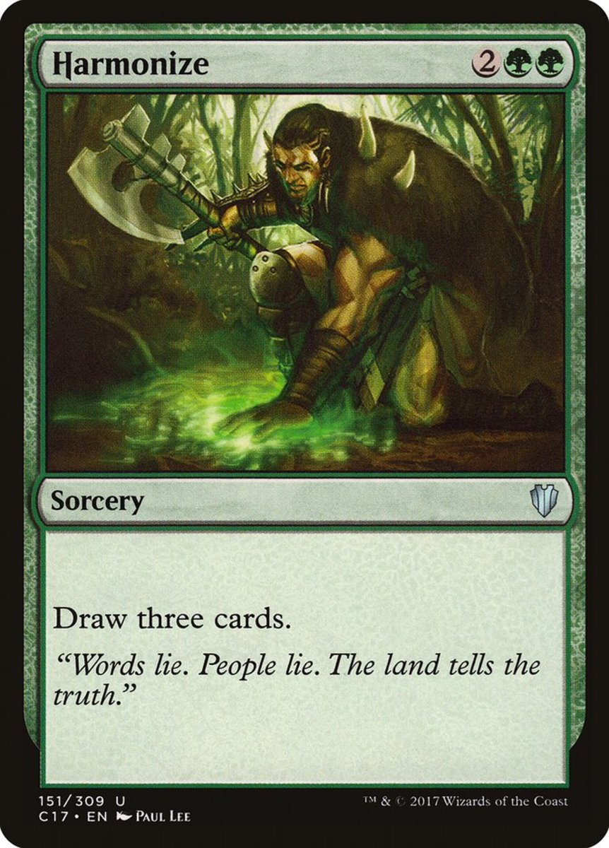 Top 10 Green Draw Engines in Magic: The Gathering
