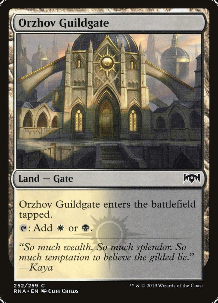 Orzhov Guildgate mtg