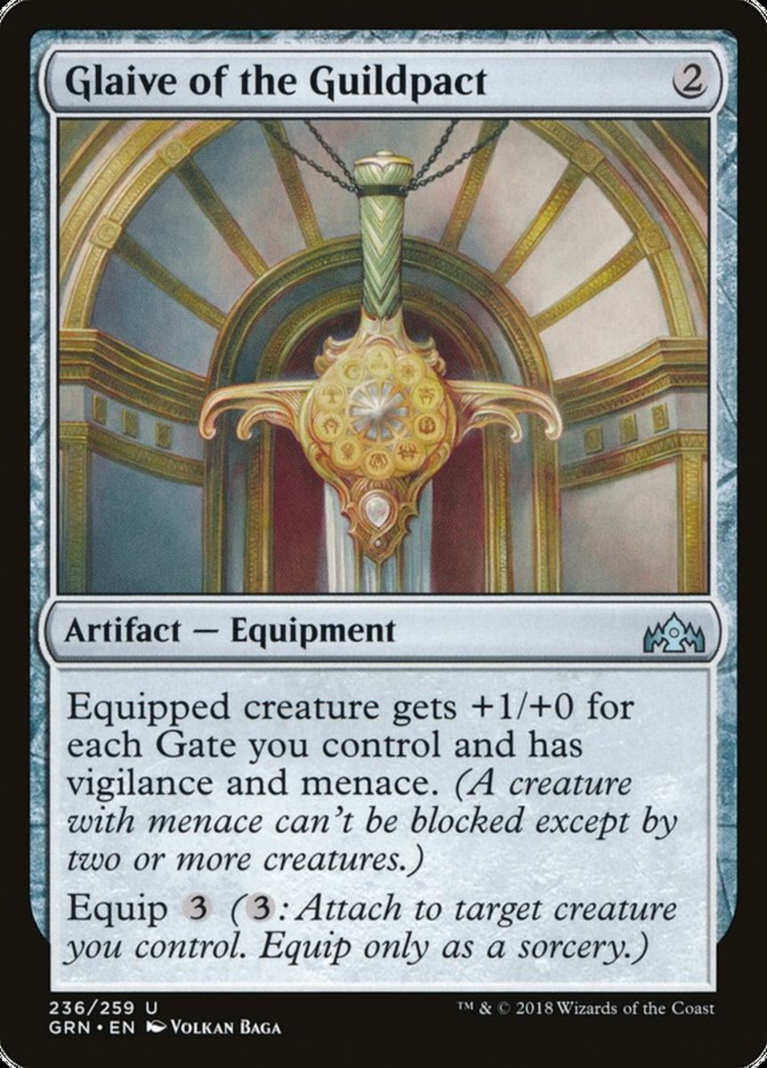 Glaive of the Guildpact mtg