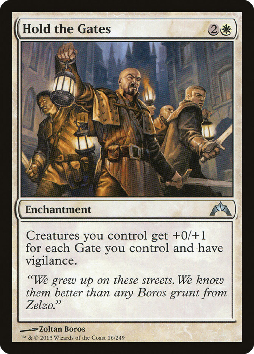 Hold the Gates mtg