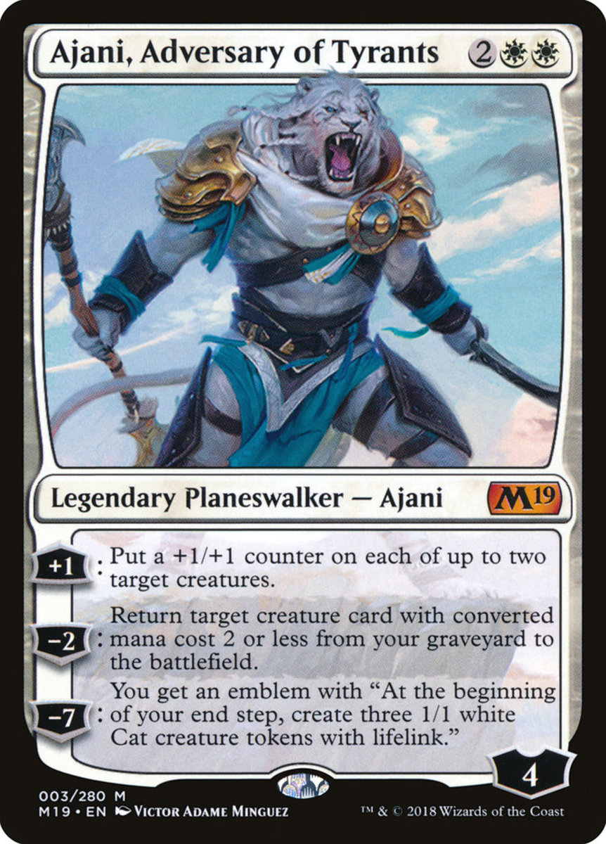 Ajani, Adversary of Tyrants mtg