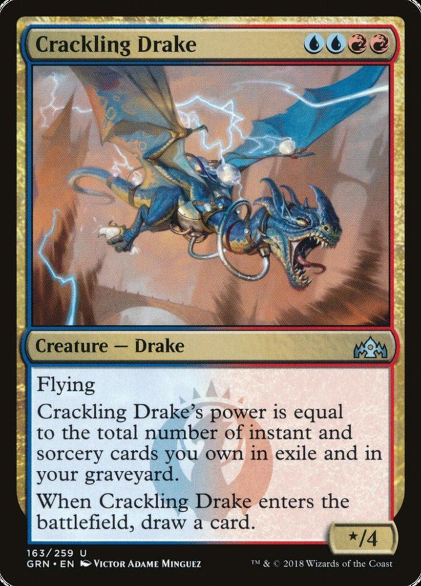 Crackling Drake mtg