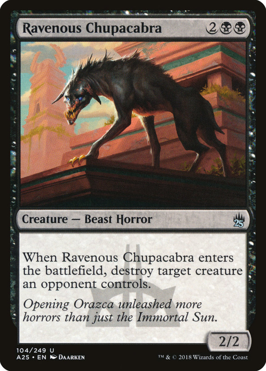 Ravenous Chupacabra mtg