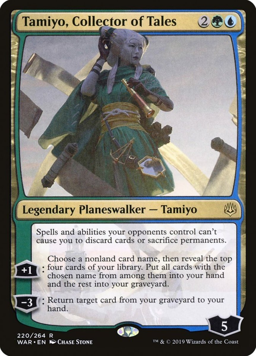 Top 10 Planeswalkers in Magic's