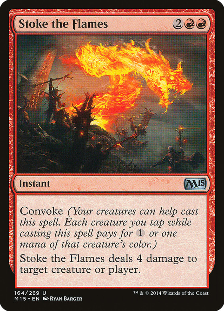 Stoke the Flames mtg