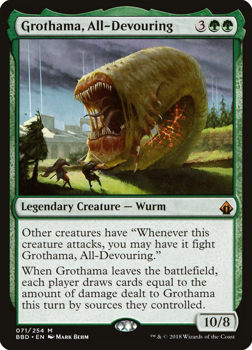 Grothama, All-Devouring mtg